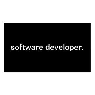 Software Developer Business Cards