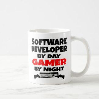 Software Developer Gamer Basic White Mug