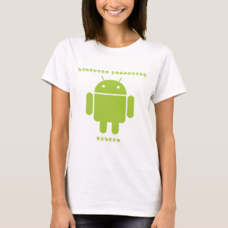 Software Developer Inside (Bug Droid Font Letters) T-Shirt
