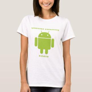 Software Developer Inside (Bug Droid Font Letters) T-Shirt