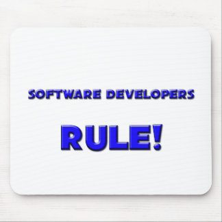 Software Developers Rule! Mouse Pads