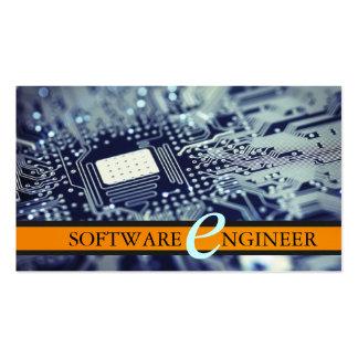Software Engineer, Computer Business Card