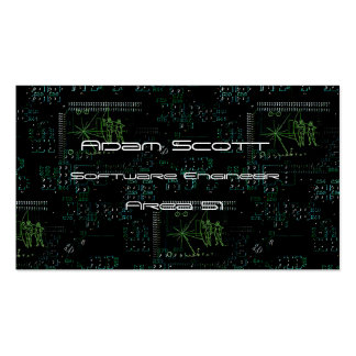 Software Engineer Pack Of Standard Business Cards