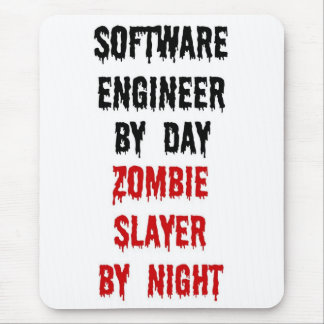 Software Engineer Zombie Slayer Mouse Mat