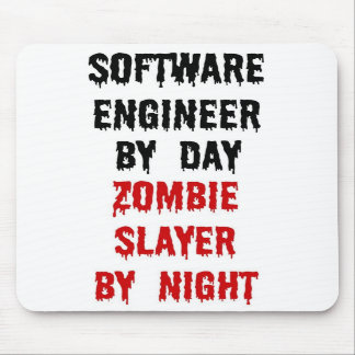 Software Engineer Zombie Slayer Mousepads