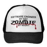Software Engineer Zombie Trucker Hats