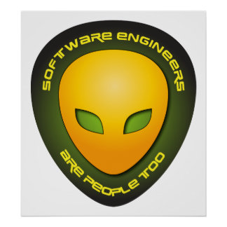Software Engineers Are People Too Poster