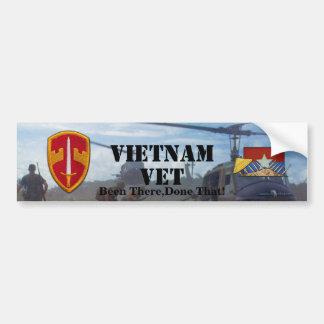 Sog Military Advisors Vietnam Nam Bumper Sticker