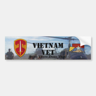 Sog Military Advisors Vietnam Nam Bumper Sticker Bumper Sticker