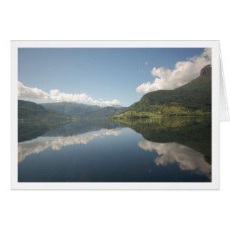 Sognefjord Fjord Card