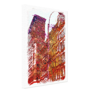 Soho, New York City Canvas Print