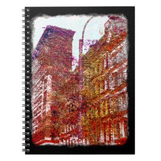 Soho, New York City Notepad Note Book
