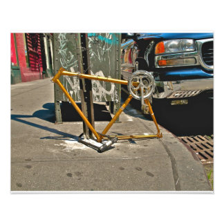 SOHO NYC Bicycle Photo Print