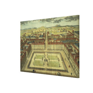 Soho or King's Square, for 'Stow's Survey of Londo Canvas Print