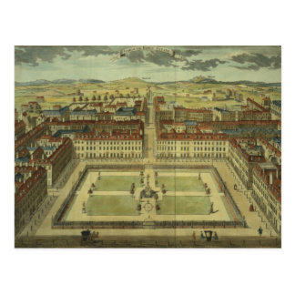 Soho or King's Square, for 'Stow's Survey of Londo Postcard