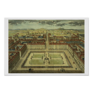 Soho or King's Square, for 'Stow's Survey of Londo Poster