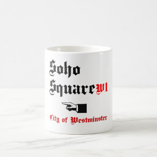 Soho Square Coffee Mug