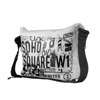 Soho Square Messenger Bag