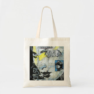 Soho Wall Art Girl Face Tote Bag