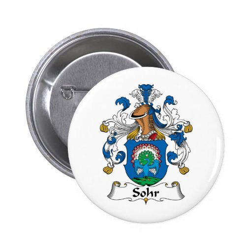 Sohr Family Crest Pins