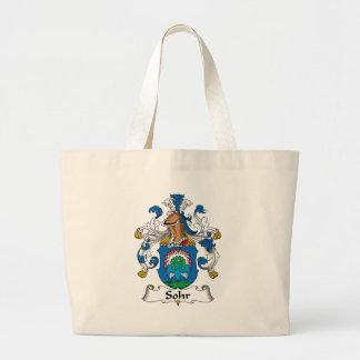 Sohr Family Crest Canvas Bag