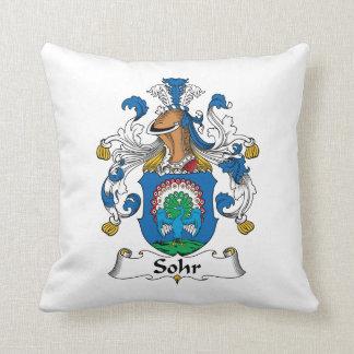 Sohr Family Crest Pillows
