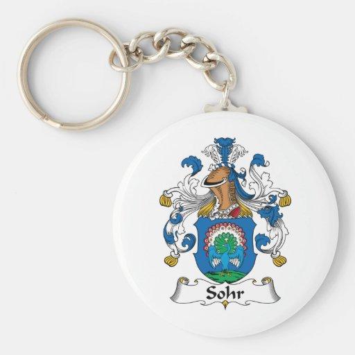 Sohr Family Crest Keychains
