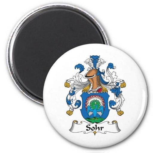 Sohr Family Crest Magnets