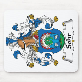 Sohr Family Crest Mouse Pad
