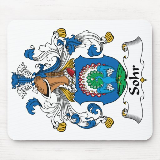 Sohr Family Crest Mouse Pads