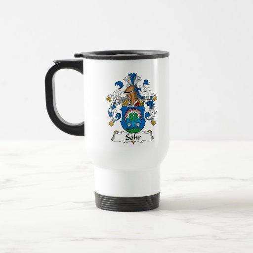 Sohr Family Crest Coffee Mugs