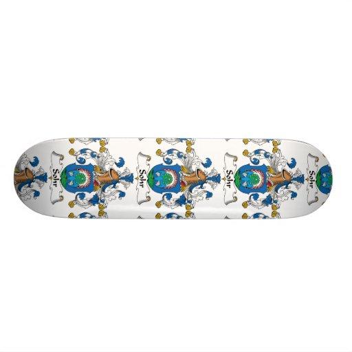 Sohr Family Crest Skate Boards