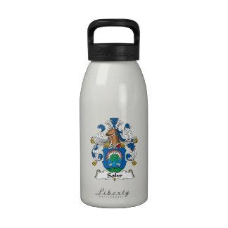 Sohr Family Crest Water Bottle