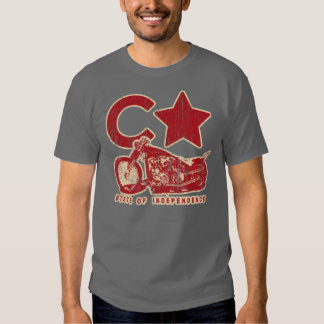 SOI (vintage red/cream) Tshirt