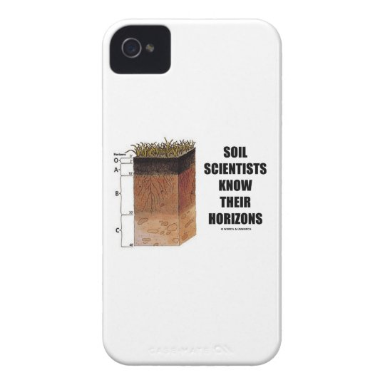 Soil Scientists Know Their Horizons iPhone 4 Case-Mate Case