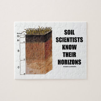 Soil Scientists Know Their Horizons Jigsaw Puzzle