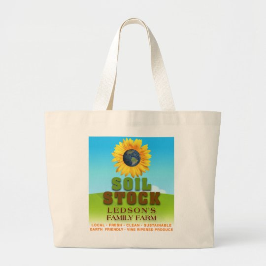 Soil Stock - Ledson's Family CSA Farm Canvas Bag