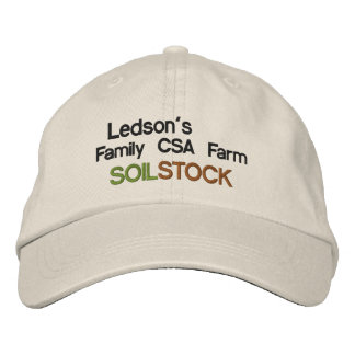 Soil Stock - Ledson's Family Farm Embroidered Hat