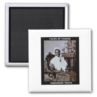 Sojourner Truth Square Magnet