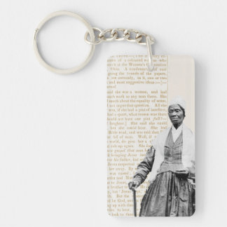 Sojourner Truth - Women's Rights Double-Sided Rectangular Acrylic Key Ring