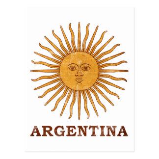 Sol de Mayo Argentina Postcard