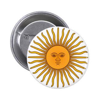 Sol de Mayo 6 Cm Round Badge