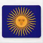 Sol de Mayo Mouse Pad