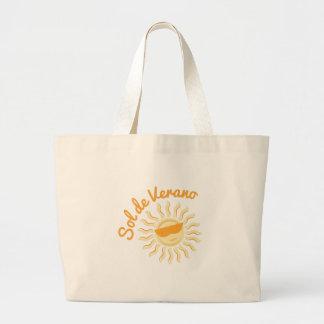 Sol De Verano Jumbo Tote Bag