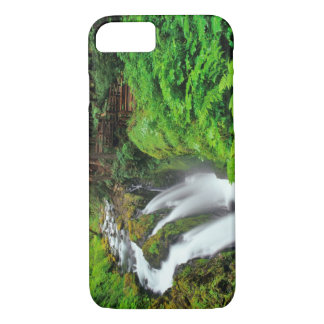 Sol Duc Falls in Olympic National Park in iPhone 8/7 Case