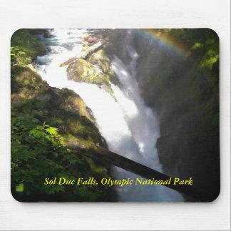 Sol Duc Falls Mouse Pad