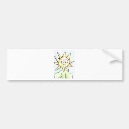 Sol Flora Bumper Stickers
