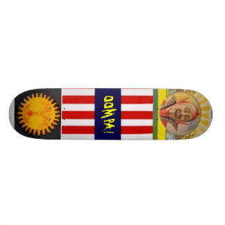 Sol & Lucifer skateboard deck
