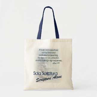 Sola Scriptura/ Scripture Alone Tote Bag