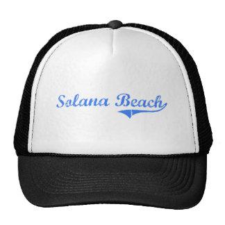 Solana Beach California Classic Design Mesh Hat